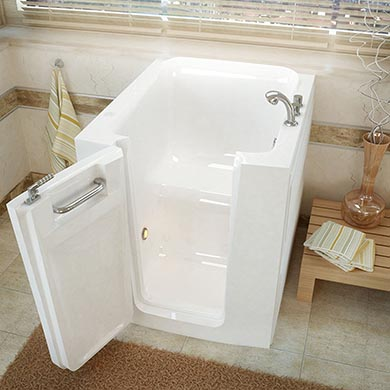 dimensions of a rectangular walk in bathtub